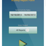 Activity Results Menu